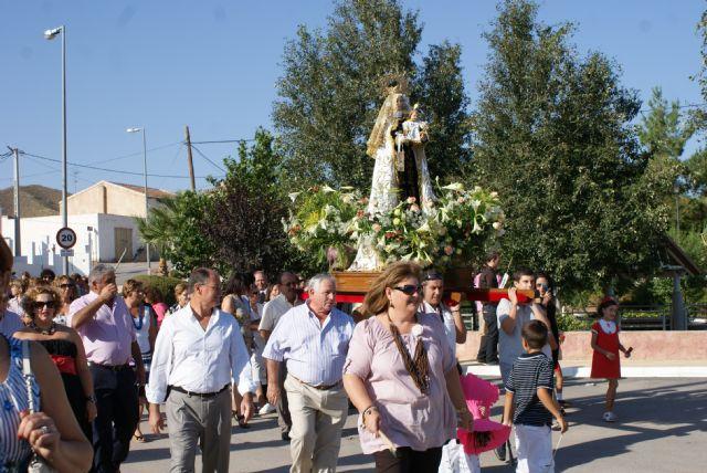 Cientos de personas se dieron cita en las fiestas patronales de Góñar 2010 en honor a la Virgen del Carmen - 1, Foto 1