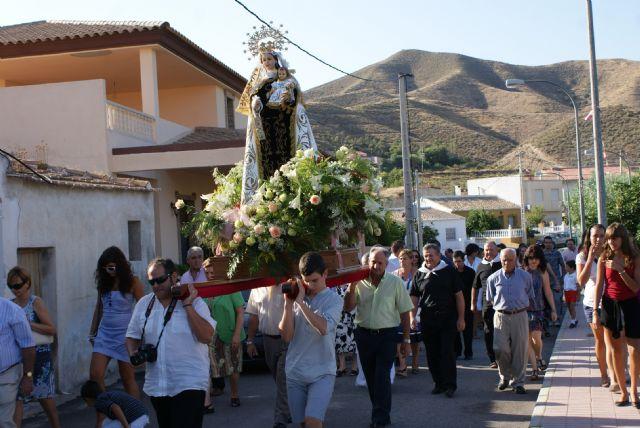 Cientos de personas se dieron cita en las fiestas patronales de Góñar 2010 en honor a la Virgen del Carmen - 2, Foto 2