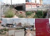 IU denuncia 'el abandono de las obras de ampliación del puente en la Avd. Juan Carlos I, que deberían haber terminado en abril'