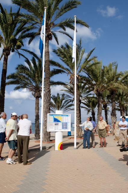 La undécima Q de calidad ya ondea en la playa de San Ginés - 2, Foto 2