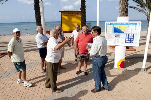La undécima Q de calidad ya ondea en la playa de San Ginés - 5, Foto 5