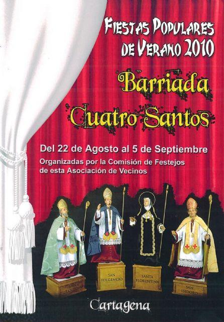 Fiestas Populares de Verano en la Barriada Cuatro Santos - 1, Foto 1