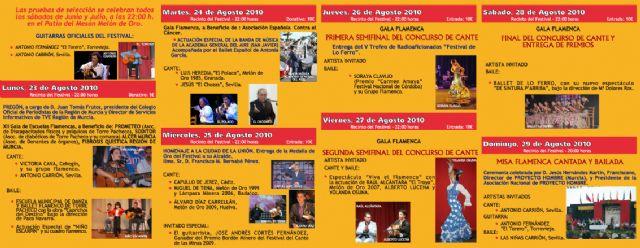 Arranca la XXXI edición del Festival de Lo Ferro - 1, Foto 1
