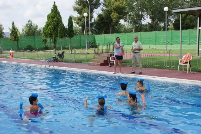 Puerto Lumbreras pone en marcha por primer año un programa de natación terapéutica y para embarazadas - 1, Foto 1