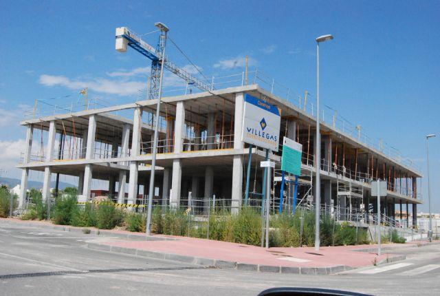 Continúan las obras del nuevo Centro de Salud Totana-Sur - 1, Foto 1
