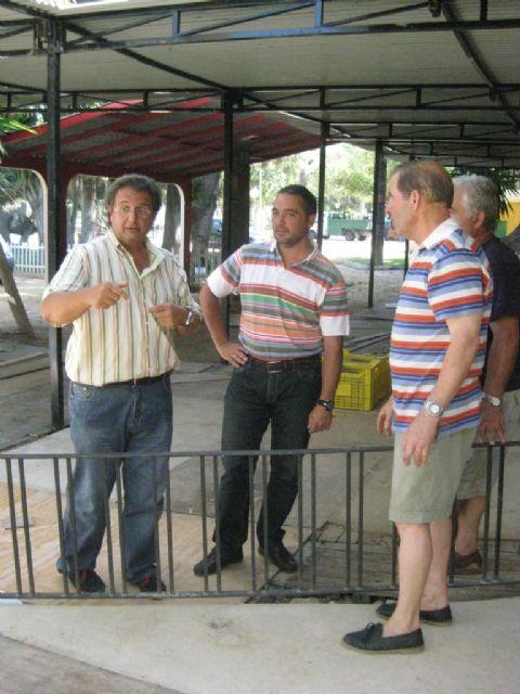 Continúan los preparativos en el recinto de Huertos del Malecón - 1, Foto 1