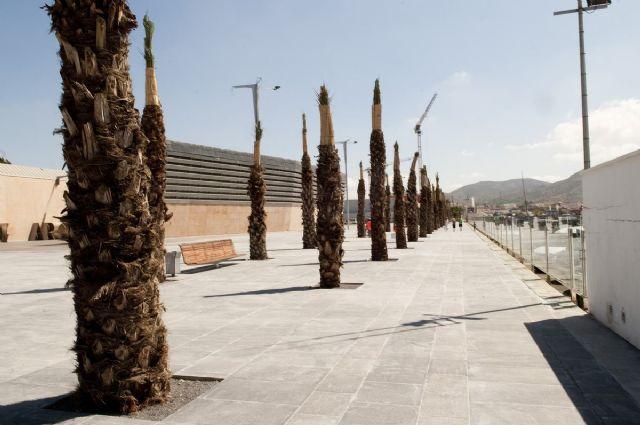 El puerto estrena 6.500 metros cuadrados más de paseo marítimo para la Audi MedCup - 1, Foto 1