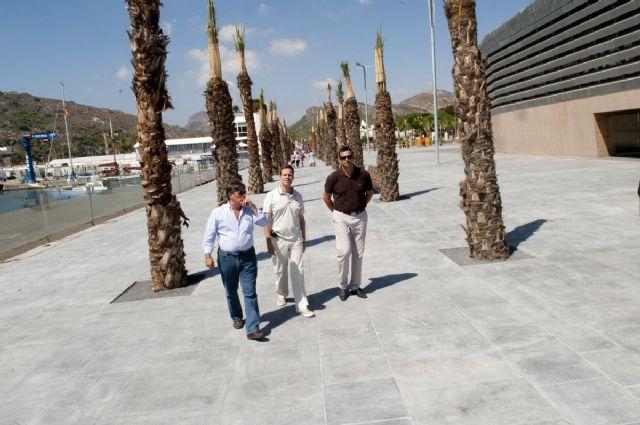 El puerto estrena 6.500 metros cuadrados más de paseo marítimo para la Audi MedCup - 2, Foto 2