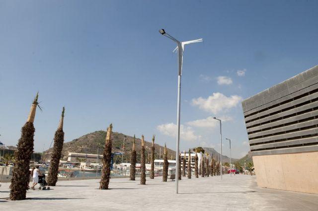 El puerto estrena 6.500 metros cuadrados más de paseo marítimo para la Audi MedCup - 3, Foto 3