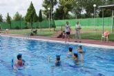 Puerto Lumbreras pone en marcha por primer año un programa de natación terapéutica y para embarazadas