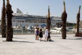 Más de 2.000 turistas llegan a Cartagena en el buque Aidavita