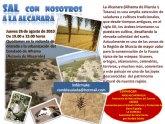 Excursi�n a La Alcanara (Saladares Guadalent�n), jueves 26 de agosto (19:00h.)