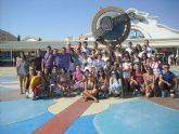 46 jóvenes disfrutaron del viaje a Madrid
