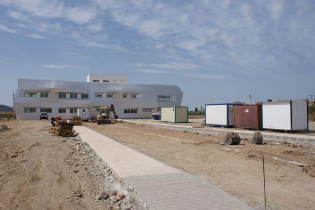 Recta final para las obras del nuevo Centro de Estancias Diurnas para personas discapacitadas de Puerto Lumbreras - 1, Foto 1