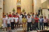 Pinatar CF realizó su tradicional ofrenda a la Virgen