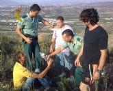 Localizados y rescatados un senderista perdido y un familiar en el Pico del Águila - Santomera