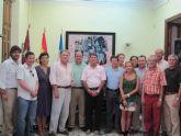 Altos cargos de la política local, regional y nacional mantienen en Águilas una reunión de trabajo.