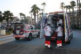 Cruz Roja de Águilas activa el Protocolo ICTUS y traslada a una paciente al Hospital Virgen del RoselI de Cartagena