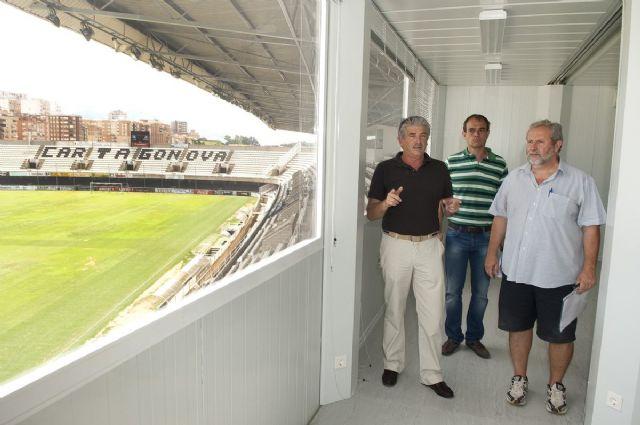 Más luz con menos consumo y contaminación en el Estadio Cartagonova - 1, Foto 1