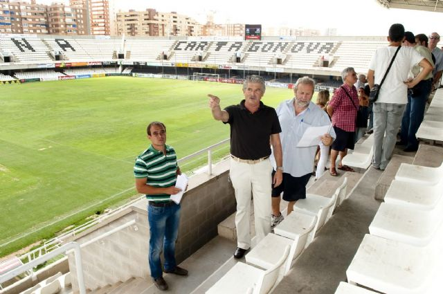 Más luz con menos consumo y contaminación en el Estadio Cartagonova - 5, Foto 5