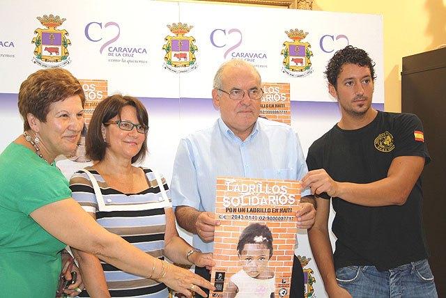 Caravaca y Cehegín se unen a la campaña Ladrillos Solidarios promovida por el IVS para ayudar a los damnificados de Haití - 1, Foto 1