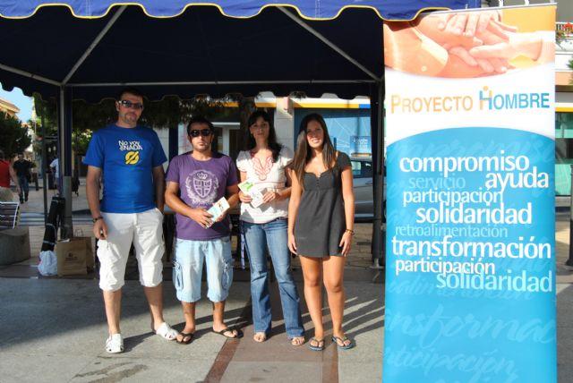 Proyecto Hombre celebra su XV aniversario en la Plaza - 1, Foto 1