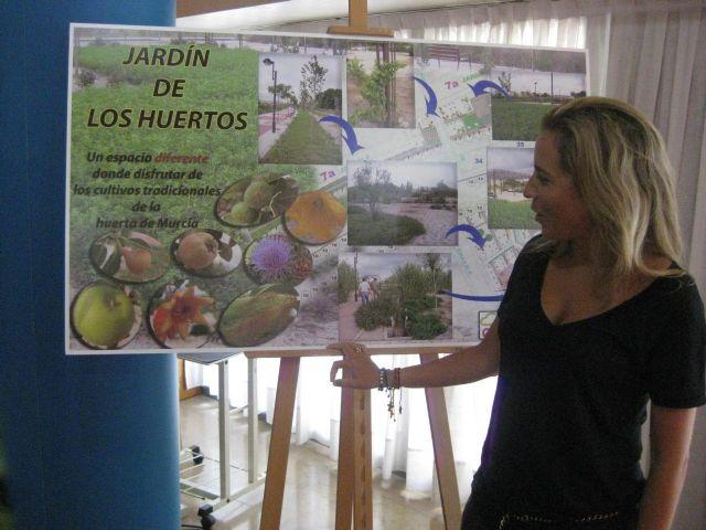 Murcia estrena su primer huerto de frutales dentro un jardín entre la avenida Juan de Borbón y la Carretera de Churra - 1, Foto 1