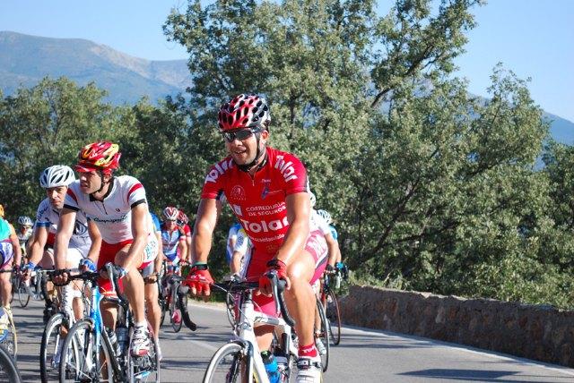 Tres corredores del Club Ciclista Santa Eulalia participaron en la 17 marcha cicloturista Pedro Delgado en Segovia, Foto 1