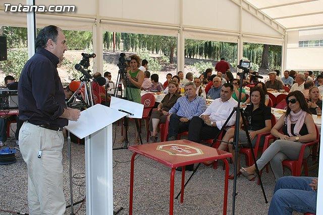 El PP de Totana celebrar� el pr�ximo d�a 26 de septiembre una jornada festiva de convivencia con militantes y simpatizantes en La Santa, Foto 1