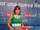 El PSOE culpa a Valcárcel de que la Región se sitúe a la cola de España en acceso a Internet en los hogares y en las empresas