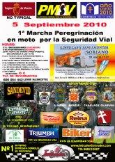 Primera Edici�n de la Marcha Peregrinaci�n en Moto por la Seguridad Vial
