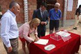 Se coloca la primera piedra del centro socio-cultural de Los Meroños