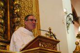 Los vecinos de Totana despiden a D Francisco Fructuoso, párroco de Santiago el Mayor, que ha sido nombrado vicario episcopal de la zona de Lorca