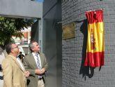 El delegado del Gobierno y el alcalde de Molina de Segura visitan las obras de rehabilitación del Auditorio Municipal