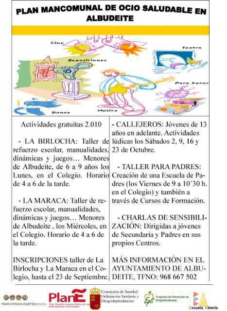 La Mancomunidad de Servicios Sociales del Río Mula pone en marcha planes para la integración de inmigrantes y la prevención de drogas - 1, Foto 1