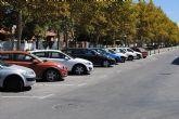 La concejalía de Tráfico apuesta por los aparcamientos en espiga o sentido oblicuo a la vía