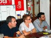 Begoña García Retegui continúa las visitas a las agrupaciones para recabar apoyos en las Primarias del PSRM