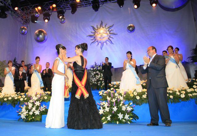Ana Hellín González fue coronada como Reina de las Fiestas de Puerto Lumbreras 2010 ante más de 2.000 personas - 1, Foto 1