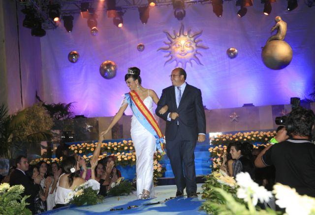Ana Hellín González fue coronada como Reina de las Fiestas de Puerto Lumbreras 2010 ante más de 2.000 personas - 3, Foto 3