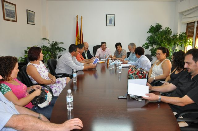 El alcalde de Mula, Diego Cervantes, asume la presidencia de la Mancomunidad del Río Mula - 1, Foto 1