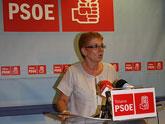 La diputada García Retegui departió en Totana con los militantes socialistas sobre su candidatura