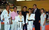 Tres cartageneros consiguen medalla en el Campeonato de España de Taekwondo