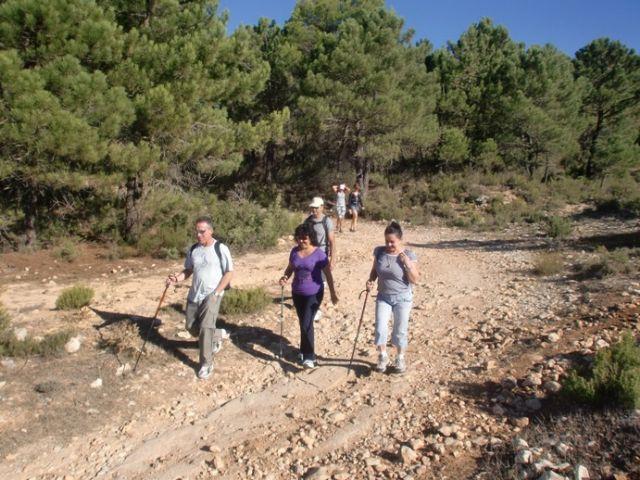 M�s de una quincena de senderistas participaron en la primera ruta del programa deportivo organizado por la concejal�a de Deportes, Foto 5