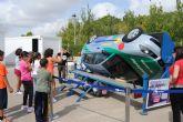 La Semana de la movilidad lleva a los escolares al parque de Seguridad Vial