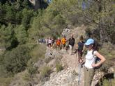 Más de una quincena de senderistas participaron en la primera ruta del programa deportivo organizado por la concejalía de Deportes