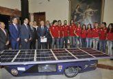La Universidad de Murcia competirá en la Solar Race con un vehículo construido íntegramente por ella