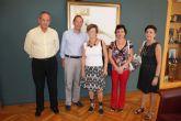 El Alcalde ratifica el apoyo del Ayuntamiento a los familiares de enfermos de Alzhéimer