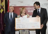 La Universidad de Murcia entrega los premios de relato corto Thader con una dotación de 18.000 euros