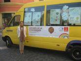 El autobús de la solidaridad funcionará hasta final de mes