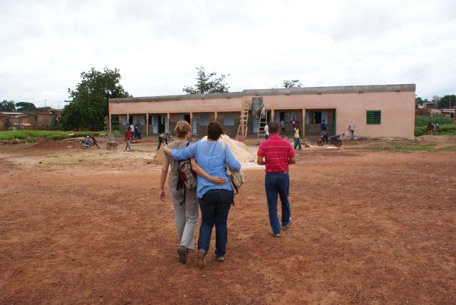 Inagurada la escuela Faracan C en Burkina Faso, por las Ampas de Aledo, Totana y Alhama, Foto 1